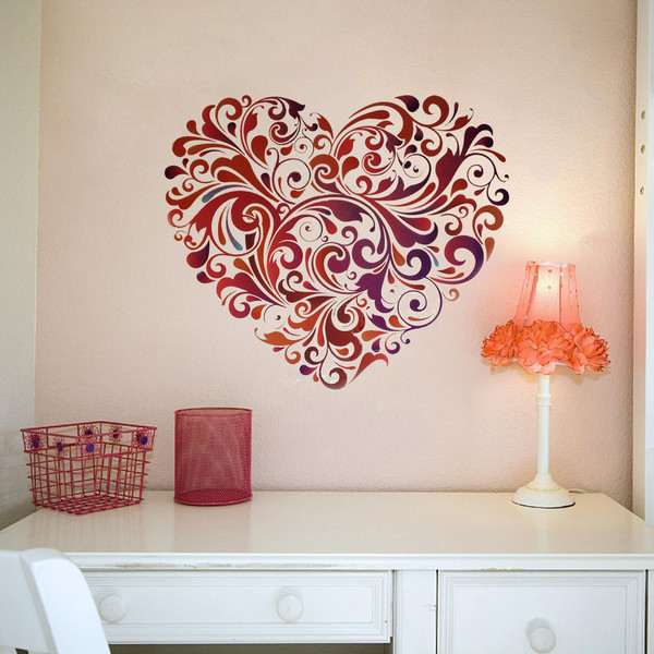 ����� ����� ����� ������ ٢٠١٤ Small_Floral_Heart_wall_sticker_square_by_Vinyl_impression_grande.jpg