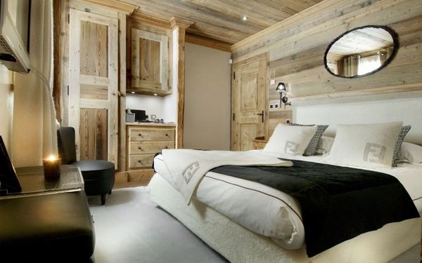 ����� ����� ������� ٢٠١٥ bedroom-furniture-wood-paneling-black-accents-Chalet-Grande-Roche.jpg