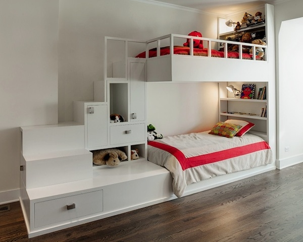 ������ ���� ���� ٢٠١٤ bunk-beds-for-kids-white-drawers-bookcase.jpg