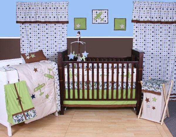 ����� ���� ٢٠١٥ ������ ������� classic-stylish-brown-baby-boy-bedding.jpg