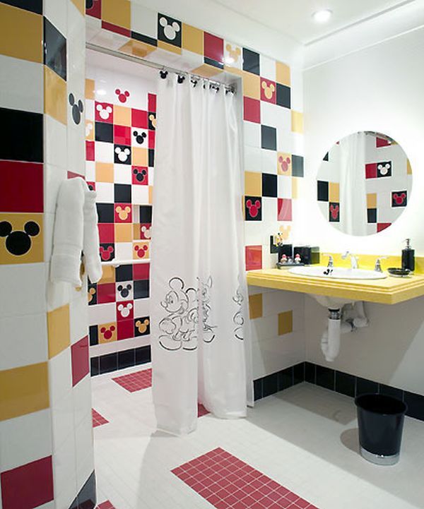 ������ ������� ���� ����� ���� modern-white-red-pink-with-mickey-mouse-disney-theme-for-kids-bathrrom-and-sink-curtain-shower-wall-and-towel.jpg