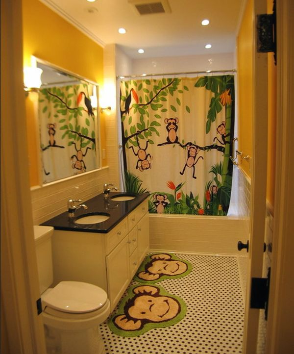 ������ ������� ���� ����� ���� playful-and-vivid-jungle-theme-surely-lights-up-this-bathroom-design-with-glee.jpg