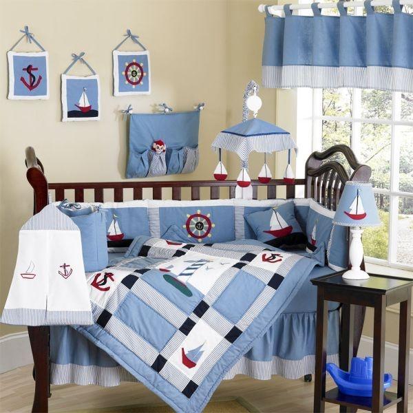����� ���� ٢٠١٥ ������ ������� sailing-boat-inspired-bedding-boy.jpg