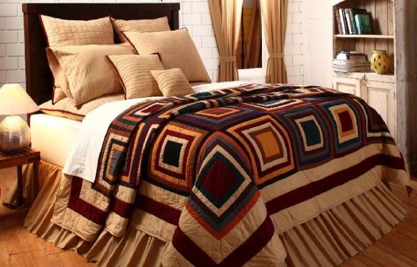 تشكيلات غرف نوم مميزة بمفروشات   المرسال