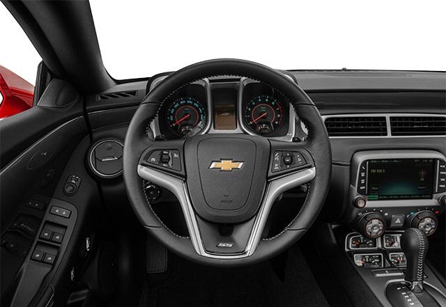 صورة من داخل السيارة شيفروليه كامارو المكشوفة 2015 المرسال