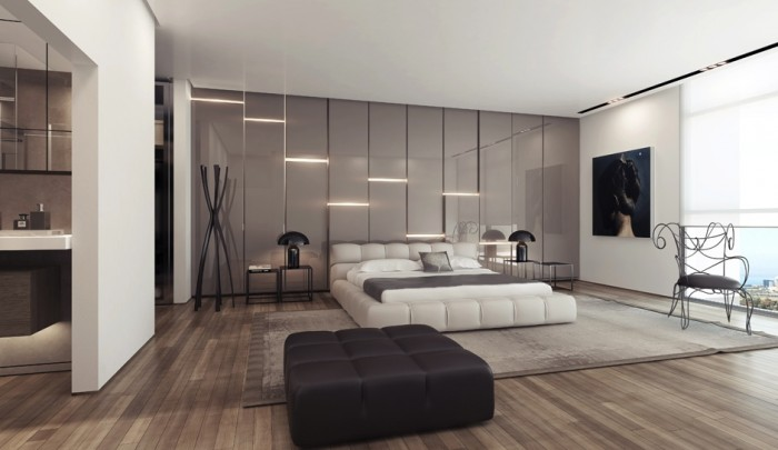 ������ ����� ������� ����� ���� Gray-gloss-wall-lighting-panels.jpeg