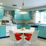 ديكورات مطابخ ملونة