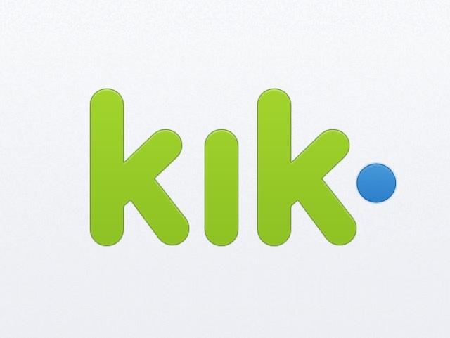 برنامج الكيك Kik تطبيق الرسائل الفورية للهواتف النقالة المرسال