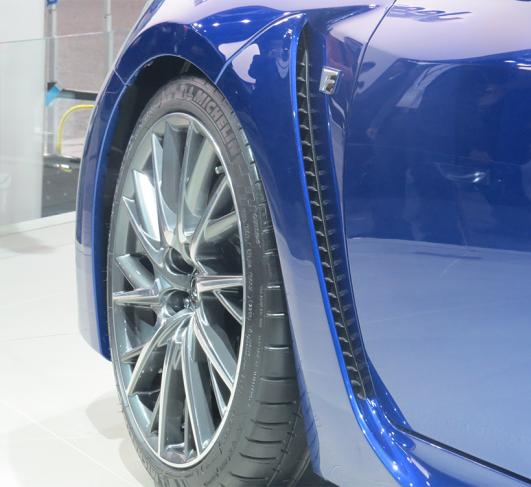 2015 Lexus Rc Suspension: صورة اطارات السيارة لكزس ار سي اف كاربون 2015