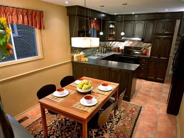 موديلات غرف طعام مع مطابخ رائعة | المرسال