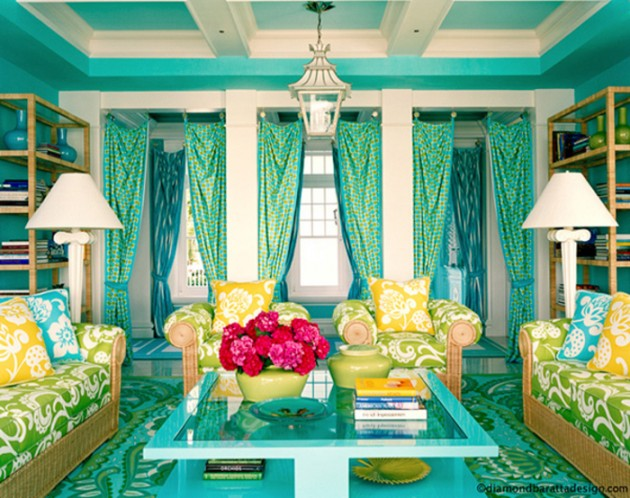 homeinspirationdesign. com awesome colorful living room design ideas really bright living room at awesome colorful living room design ideas  630x498 تصميم وسائد حديثة   صور خداديات الوان مختلفة
