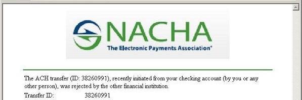 f1064bacf الرابطة الوطنية غرفة المقاصة الآلية ... NACHA | المرسال