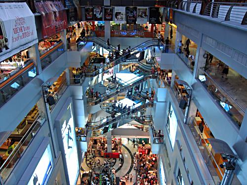 المراكز التجارية أكثر من 2000 متجر المتعددة والمتنوعة والتي تبيع