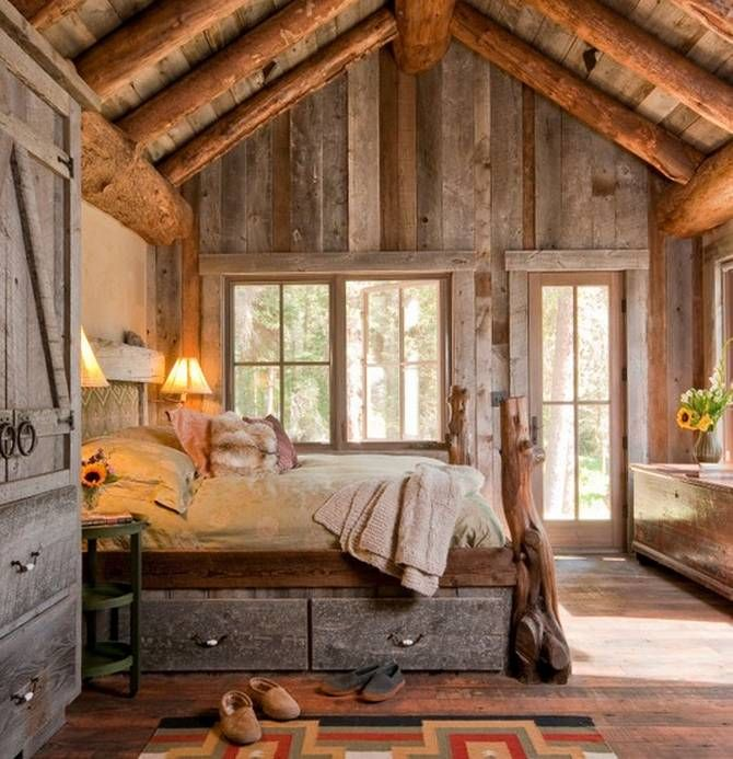 ديكورات غرف نوم ريفيه | المرسال