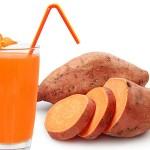فوائد عصير البطاطا الحلوة