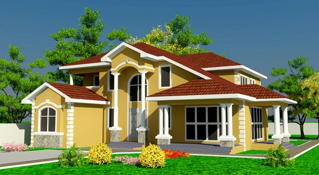 - One level house plans with basement paint ...