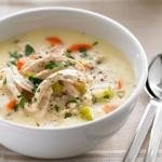 طريقة عمل حساء الدجاج بالكريمة