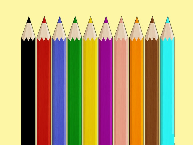 How To Draw With Colored Pencils المرسال