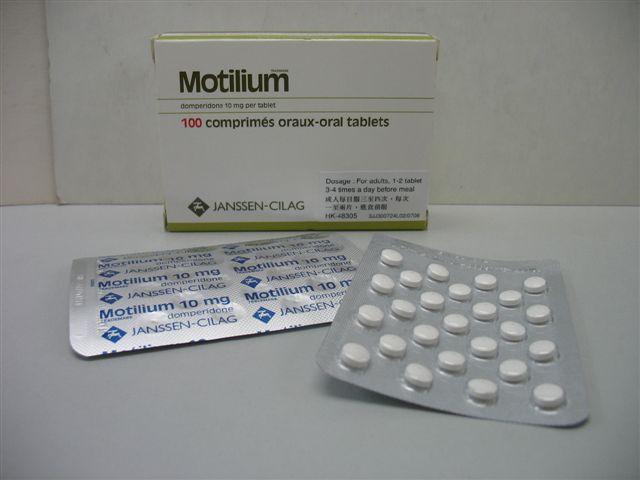 Domperidone 10mg Motilium
