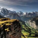 قرية لوتيربرونين في سويسرا