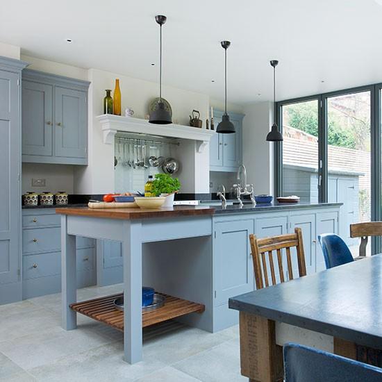 Blue Kitchen Themes: اجمل دواليب لاجمل مطبخ باللون الازرق