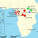 حالات حمى الإيبولا في أفريقيا - 145648