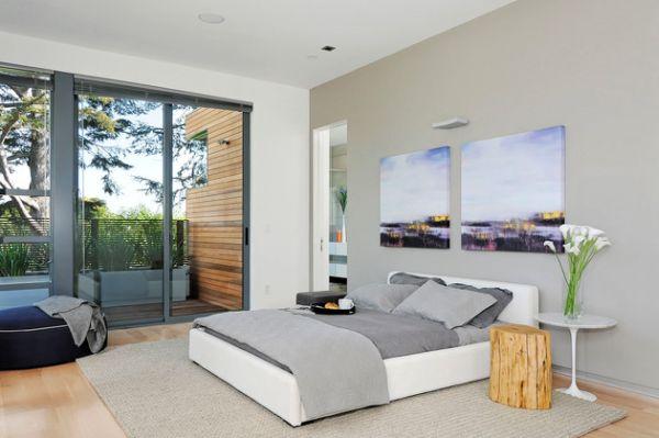 تصاميم غرف نوم زجاجية مذهلة المرسال