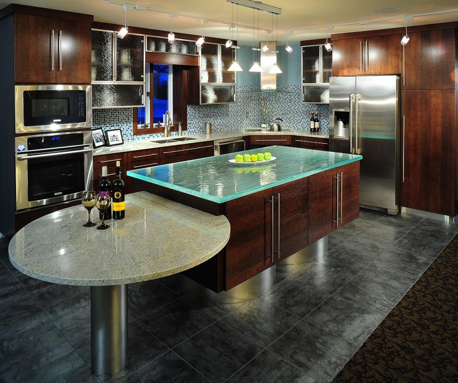 Kitchen Interesting Kitchen Sink Design With Cool Top: المرسال