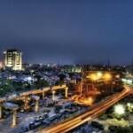 مدينة جورجاون في الهند