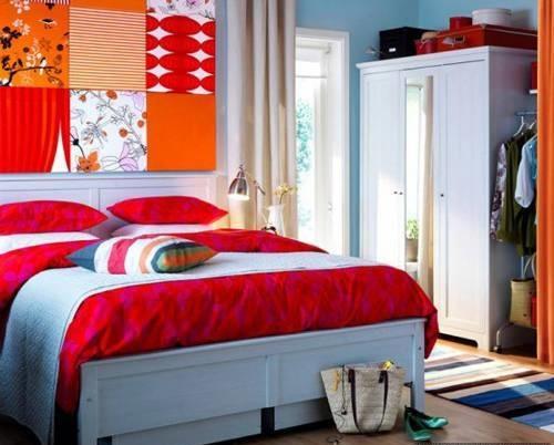 : غرف نوم بناتية من ايكيا : غرف