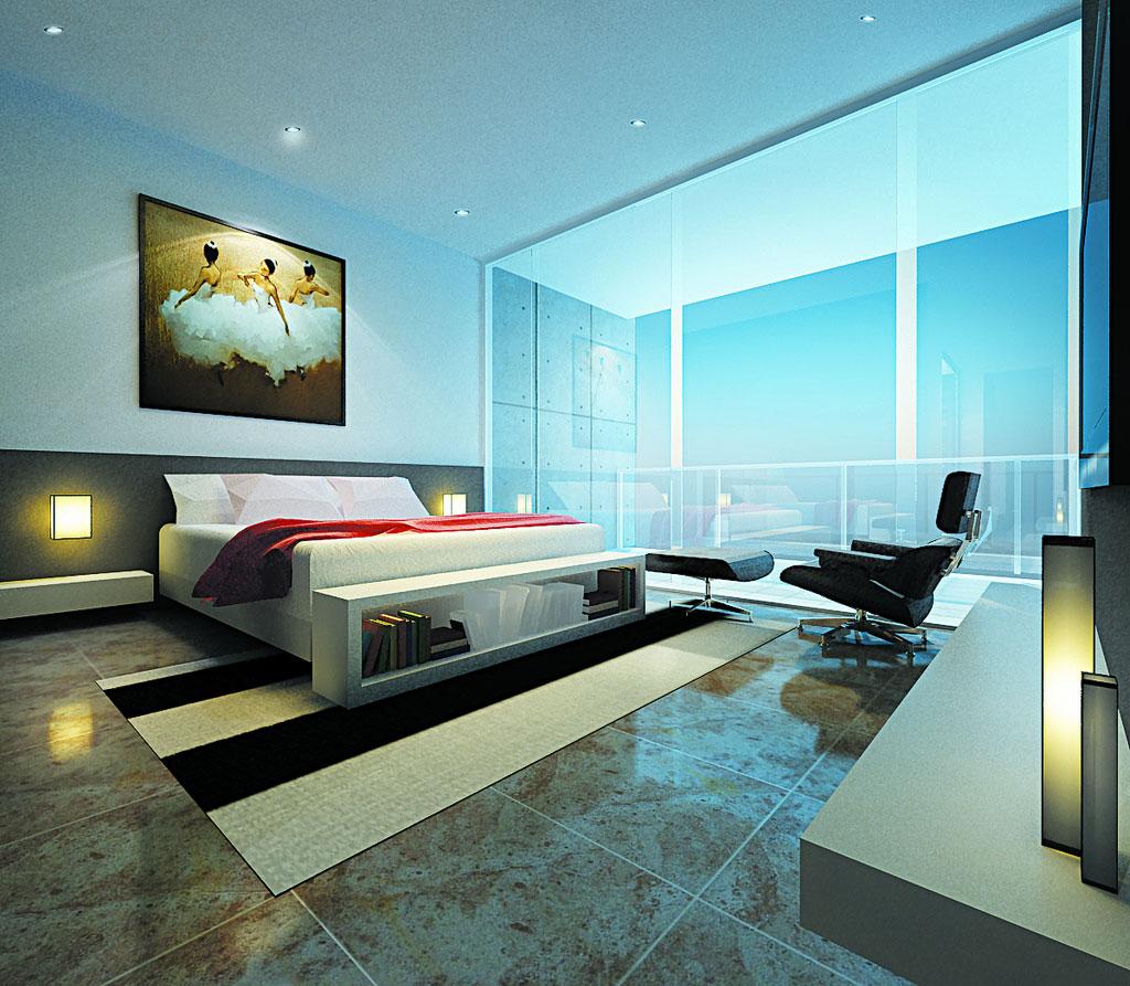 المرسال & glass bedrooms | المرسال