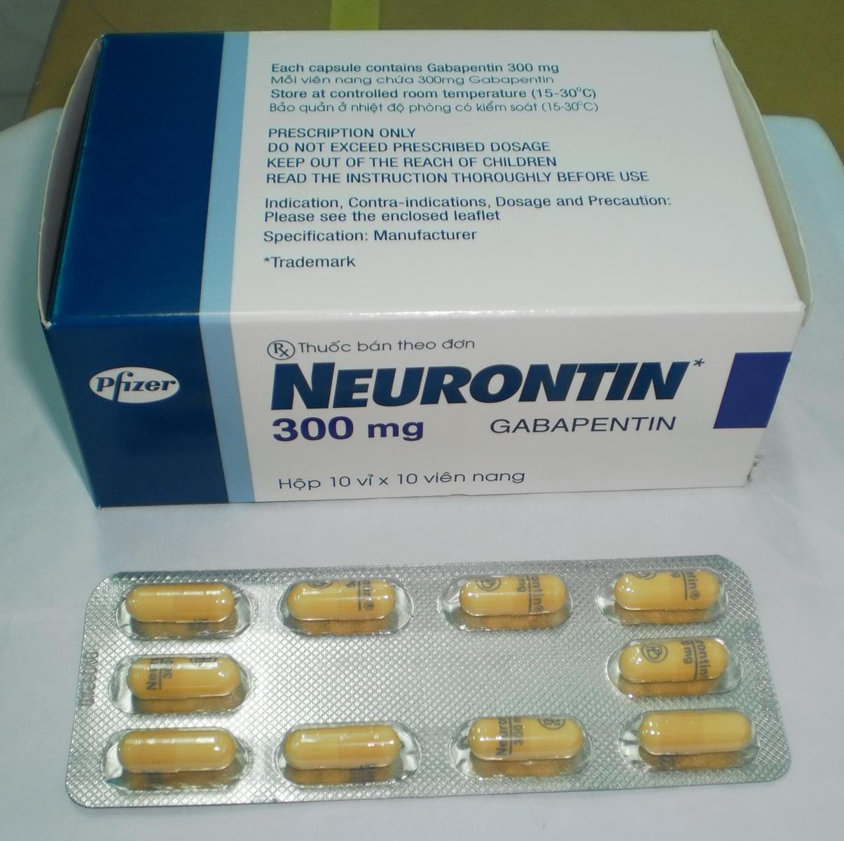 معلومات عن دواء نيورونتين Neurontin المرسال