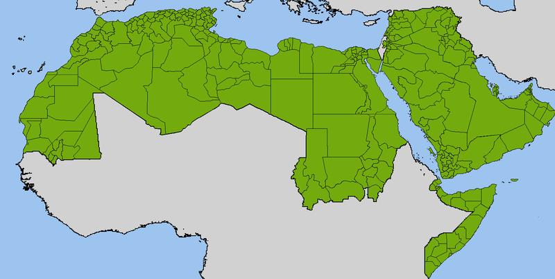 مواطني الدول العربية يرغبون بالهجرة Provinces-and-governorates-of-the-Arab-States.png