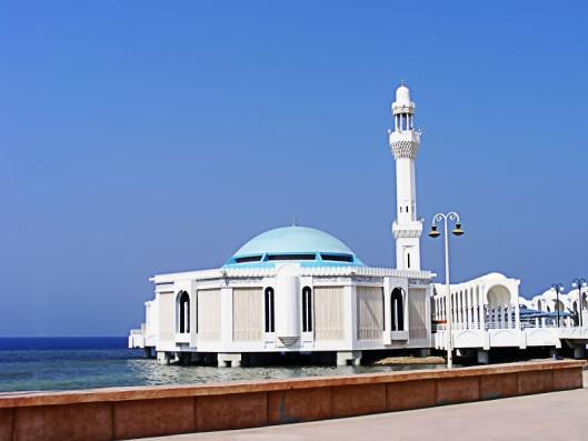 تصميمات هندسيه : المسجد العائم بـ (جده)