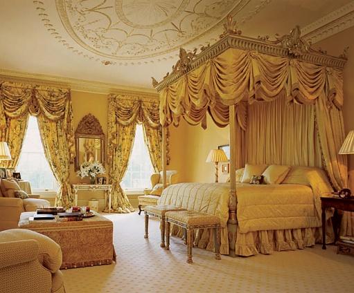 افكار فاخرة لغرف نوم ذهبية | المرسال