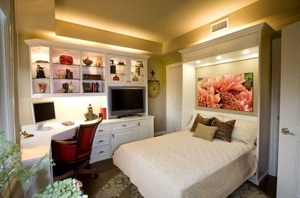 استغلال المساحات الضيقة في غرف النوم | المرسال