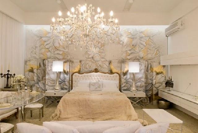 غرف نوم ساحرية باللون الذهبي | المرسال