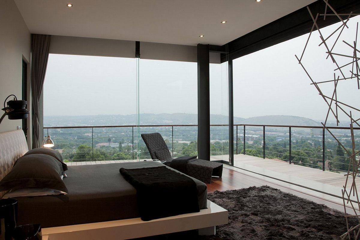 تصاميم غرف نوم زجاجية مذهلة | المرسال