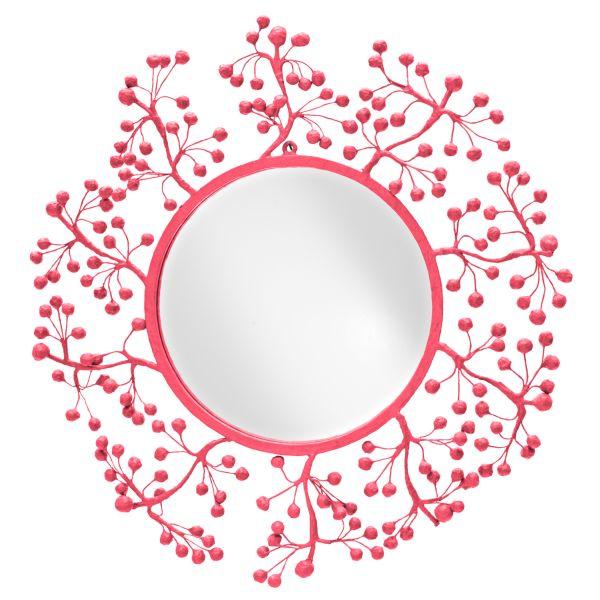 pink mirror مرايا لديكور المنازل العصرية بالصور