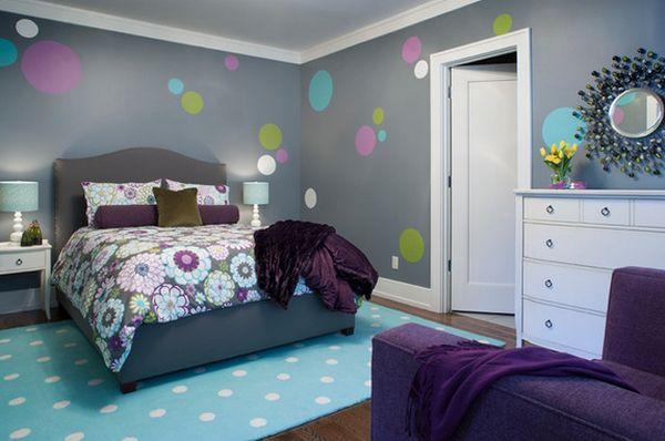 اللون الرمادي لغرف نوم البنات المراهقات | المرسال