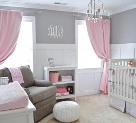 غرف نوم وردي ورمادي | المرسال