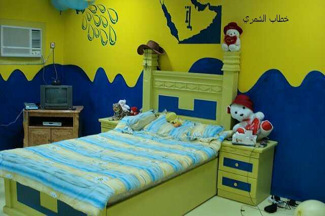 تصميم غرفة نوم نصراويه مميزة | المرسال