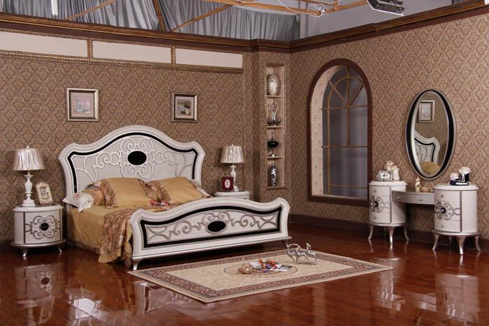 اجمل جدران مزخرفة بغرف نوم قصر السرايا بالرياض   المرسال