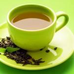 الشاي الاخضر بعد الاكل