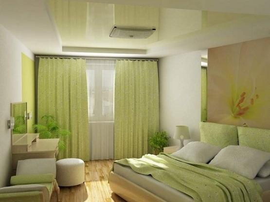 اللون الزيتي الفاتح بغرف النوم الجميلة | المرسال