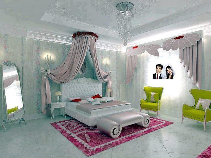 افكار لتزيين غرف النوم في ذكرى الزواج   المرسال
