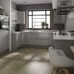 مطبخ مميز باللون الرمادي الروعة  - 152873