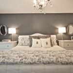 اضاءة جميلة بغرفة نوم ناعمه جدا  - 152919