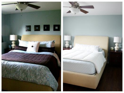 غرف نوم قبل وبعد التعديل بالصور | المرسال