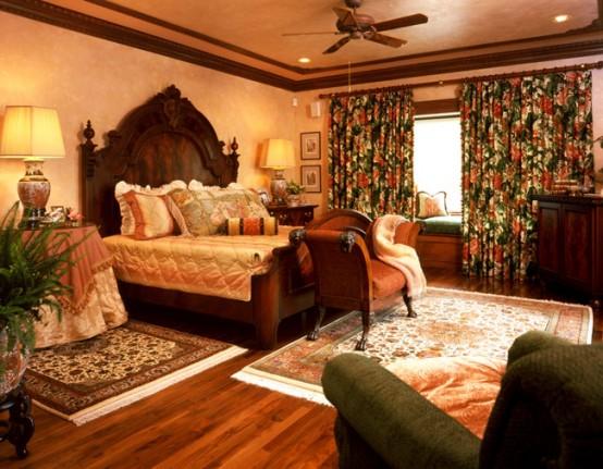 موديلات غرف نوم طراز قديم مدهشة | المرسال